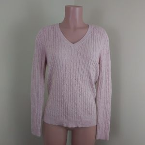 Croft & Barrow pink sweater